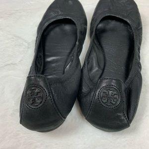 Tory Burch Shoes - TORY BURCH Black Packable ballet flats 7.5